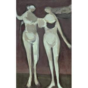 Alfred Aberdam (1894 Lwów – 1963 Paryż), Dwie kobiety, 1954 r.