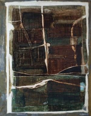 Andrzej Seweryn Kowalski (1930 Sosnowiec - 2004 Katowice), Kompozycja N-4, 1959 r.
