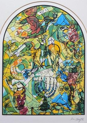 Marc Chagall (1887 Łoźno k. Witebska-1985 Saint-Paul de Vence), Plemię Asher