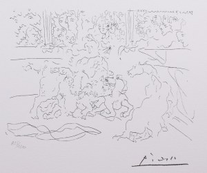 Pablo Picasso (1881 Malaga - 1973 Mougins), Walka byków