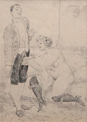 Artysta nieokreślony (pocz. XX w.), Erotyk