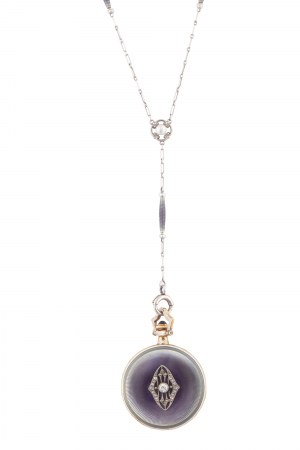Zegarek medalion