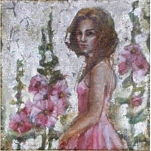 Monika Krzakiewicz, W MALWACH, 30 x 30 cm.