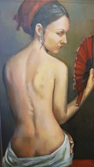 Dian Petrov - The lady with the fan