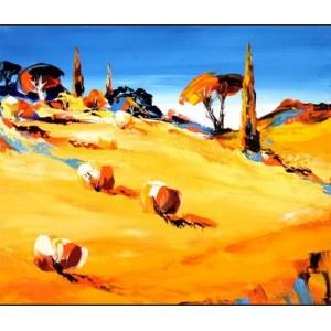 Hubert Gross (né en 1942) - Provence lumineuse