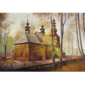 Konrad Hamada, Cerkiew w Ropicy Górnej, 2021 r.