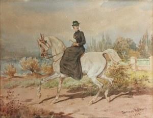 Juliusz KOSSAK (1824-1899), Amazonka, 1884