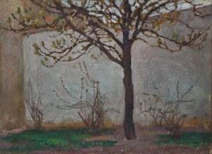 Jan STANISŁAWSKI (1860-1907), Pejzaż z drzewem