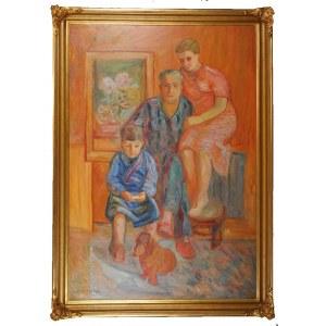 Zbigniew PRONASZKO (1885-1958), Portret rodziny