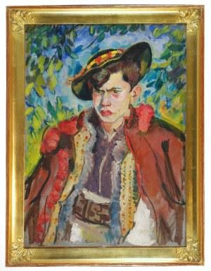 Pautsch FRYDERYK (1877-1950), Młody Hucuł, 1930