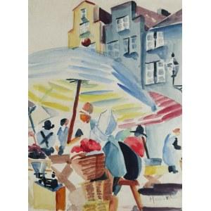 Alicja HALICKA (1894-1975), Scena miejska