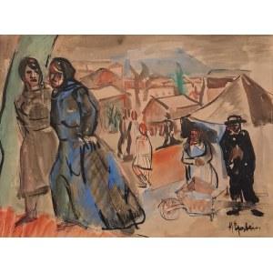 Henryk EPSTEIN (1890-1944), Powrót z targu