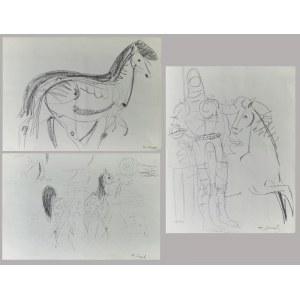 Konrad SRZEDNICKI (1894-1993), Zestaw 8 rysunków