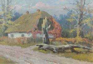 Edward MESJASZ (1929-2007), Wiejska chata