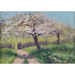 Roman BRATKOWSKI (1869-1954), Kwitnące jabłonie, 1943
