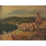 Michał STAŃKO (1901-1969), Wypas owiec