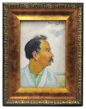 Wlastimil HOFMAN (1881-1970), Autoportret z profilu, 1920