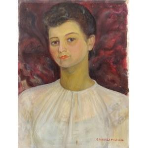 Zdzisław CYANKIEWICZ (1912-1981), Portret kobiety