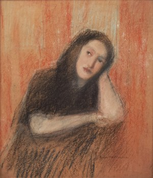 Artur MARKOWICZ (1872-1934), Zamyślona kobieta