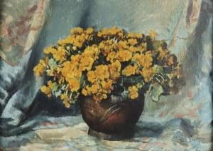 Teodor GROTT (1884-1972), Kaczeńce w wazonie