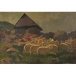 Michał STAŃKO (1901-1969), Owce i bacówka