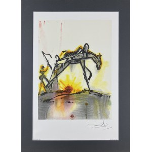 Salvador Dali (1904-1989), Le Cheval de Labeur. (Koń pracy).