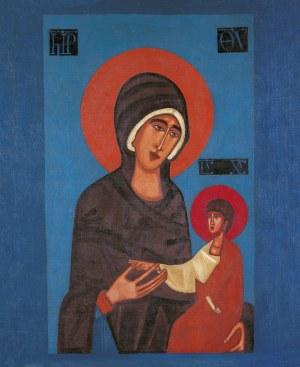 Jerzy Nowosielski ( 1923 – 2001 ), Matka Boża z Dzieciątkiem