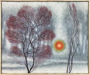 Dawid Zdobylak ( 1993 ), Pejzaż zimowy wschód , 2021