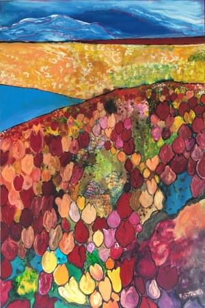 Ewelina Sztuka ( 1975 ), Wspomnienie tulipanów, 2020
