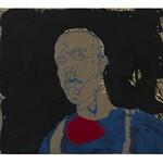 Norman Leto ( 1980 ), Autoportret- zgaga, 2020,