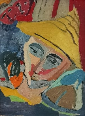 Judyta SOBEL (1924-2012), Pierrot