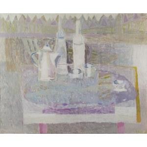 Beata BEBEL-KARANKIEWICZ (1958-2021), Martwa natura z białymi naczyniami,1998