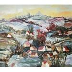 SZANCENBACH JAN (1928-1998) , Pejzaż z kopcem Kościuszki, 1988