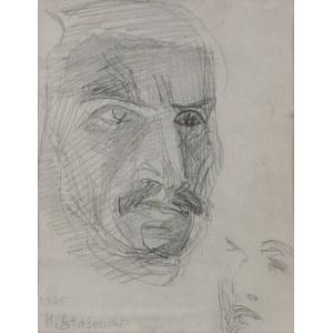 Henryk STAŻEWSKI (1894-1988) , Szkic portretowy, 1945