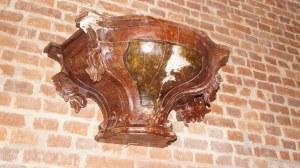barokowa konsola 18 w.