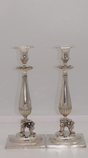 para świeczników srebro 1040 g Wrocław