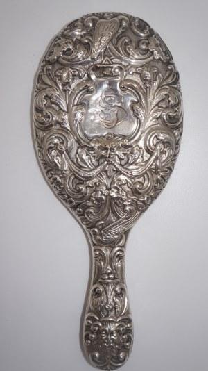 lusterko srebro druga połowa XIX-go w.