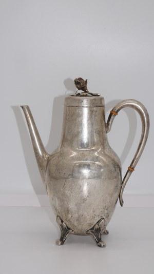 dzbanek srebrny do herbaty, Niemcy-830, 735g