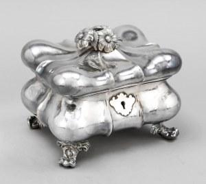 cukiernica srebrna Wiedeń 1852 r. 544g