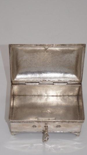 cukiernica srebrna, Wrocław koło 1800r. 460g