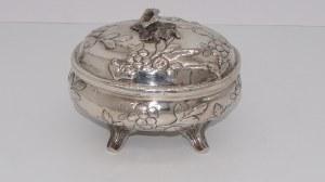 cukiernica srebrna Norymberga 18 w. 166g