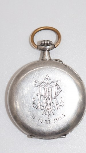 zegarek kieszonkowy w srebrze-935 Geneva