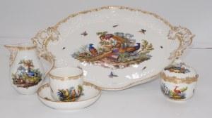 porcelana Berlin, zestaw śniadaniowy
