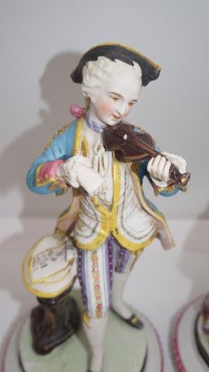 para biskwitowych figur, Francja XIX w.