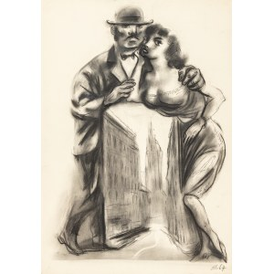 Hoffmann Adam (1918-2001), Szkic do plakatu, 1967