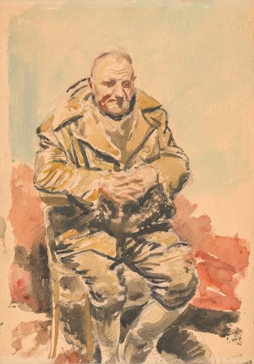 Pautsch Fryderyk (1877-1950), Studium jeńca, ok. 1917