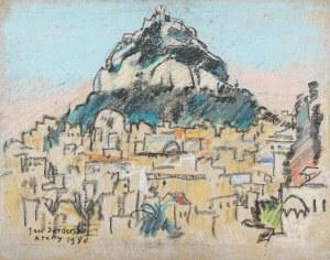 Świderski Jan (1913-2004), Pejzaż z Aten, lata 90. XX w.