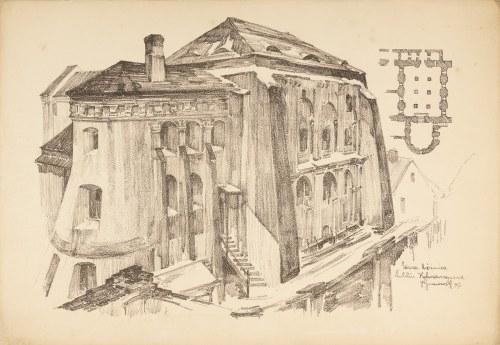 Gumowski Jan Kanty (1883-1946), Stara Bożnica. Kalmanowszczyzna, 1917