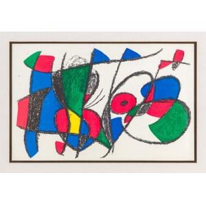 Miró Joan, Kompozycja I, 1972