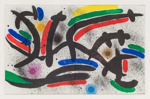 Miró Joan, Kompozycja III, 1972